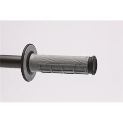 Revêtements RENTHAL MX picots/semi-gauffré gris/noir