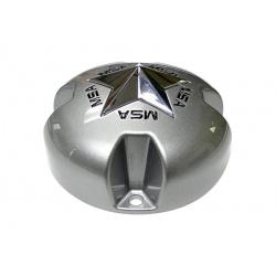 Cabochon MSA Offroad Wheels MSA CAP argent pour jantes MSA M18/M17/M15/M12