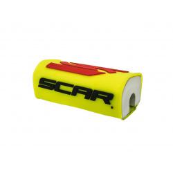 Mousse de guidon SCAR 3D Design jaune pour guidon sans barre Ø28,6mm