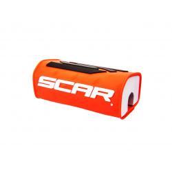 Mousse de guidon SCAR 3D Design orange pour guidon sans barre Ø28,6mm