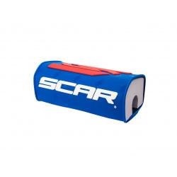 Mousse de guidon SCAR 3D Design bleu pour guidon sans barre Ø28,6mm