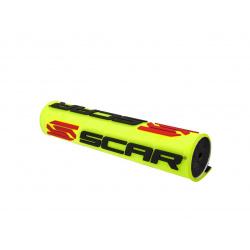 Mousse de guidon SCAR 3D Design jaune pour guidon avec barre Ø22,2mm