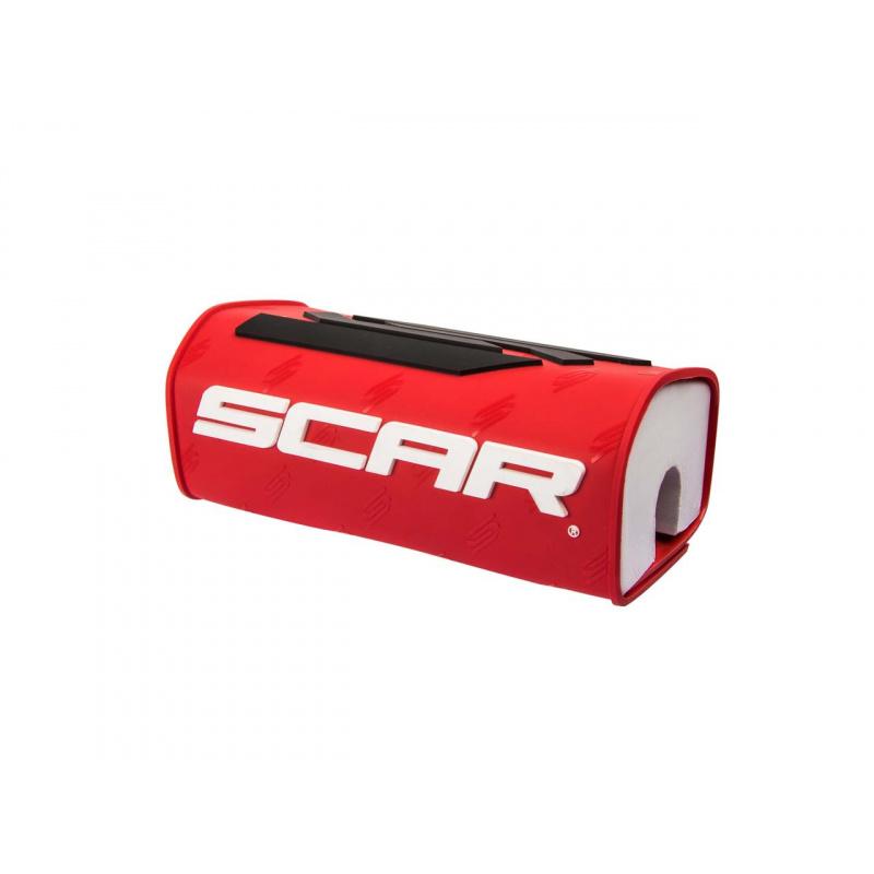 Mousse de guidon SCAR rouge pour guidon sans barre