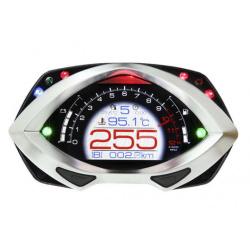 Compteur multifonctions KOSO RXF LCD noir/argent