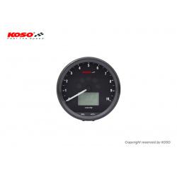 Compteur multifonctions KOSO Neo Retro 64mm TNT noir