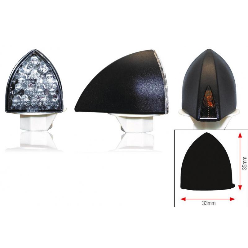 Clignotants BIHR Profil LED noir universel