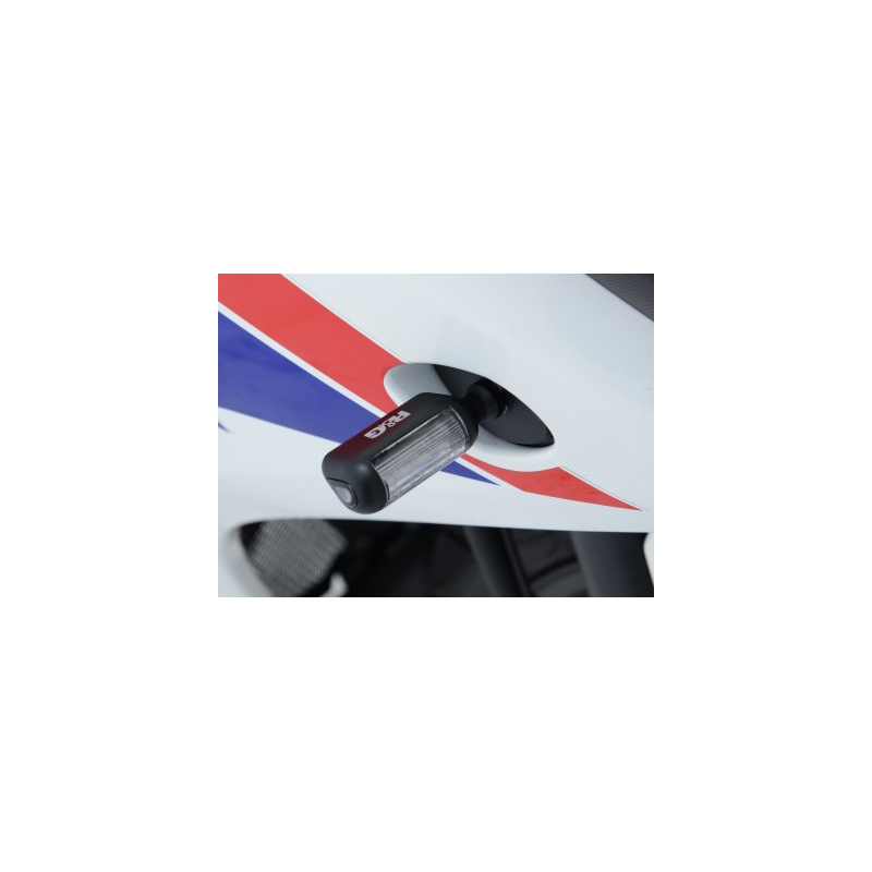 Clignotants R&G RACING Aero LED noir universel