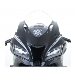 Cache-orifices clignotants R&G RACING noir Kawasaki ZX-10R