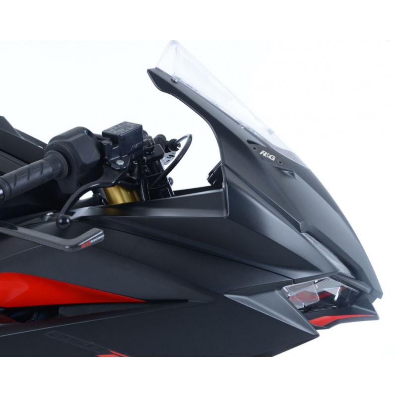 Cache orifice R&G RACING noir Honda CBR250RR