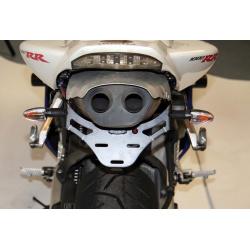 Support de plaque R&G RACING noir Honda CBR600RR/1000RR Fireblade