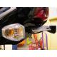 Support de plaque R&G RACING noir Kawasaki ER-6 F/N