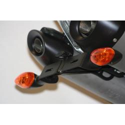 Support de plaque R&G RACING noir Yamaha YZF-R1
