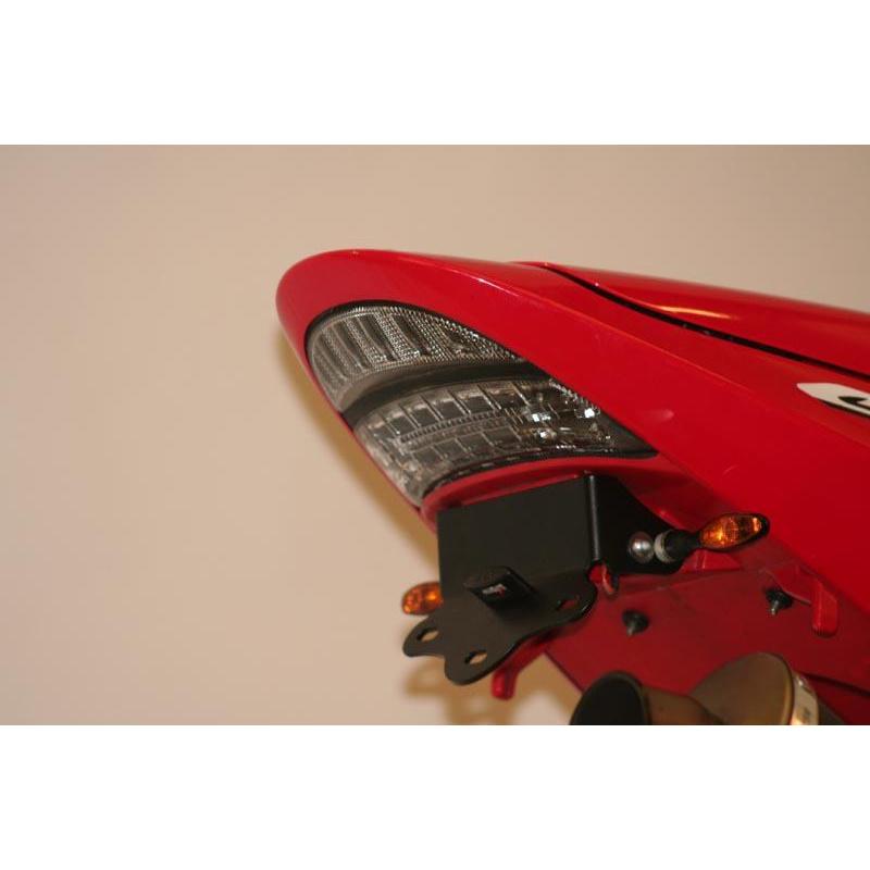 Support de plaque R&G RACING pour CBR954RR 02-03