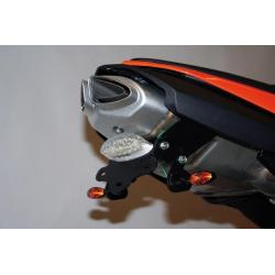 Support de plaque R&G RACING pour ZX6R '07-08
