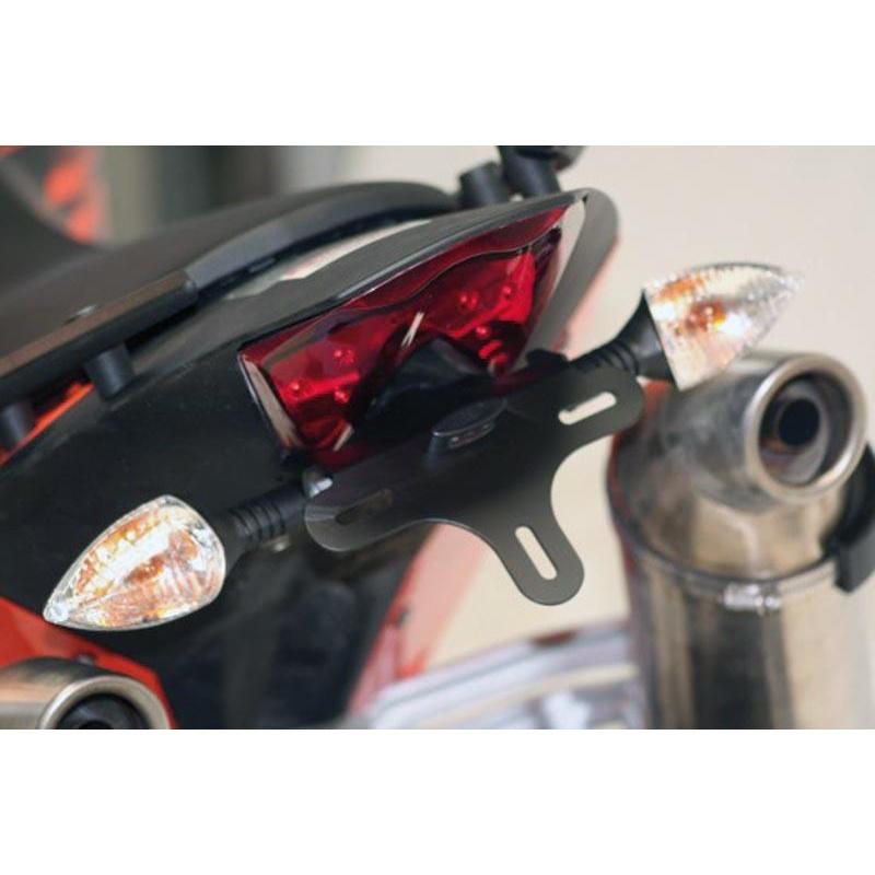 Support de plaque R&G RACING noir KTM 690 Duke/Supermoto