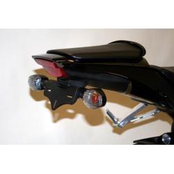 Support de plaque R&G RACING noir Honda CBR1000RR Fireblade