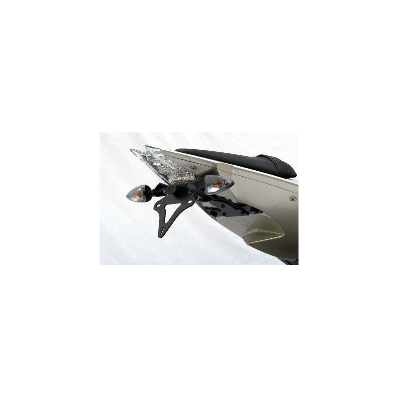 Support de plaque R&G RACING noir BMW S1000R/RR