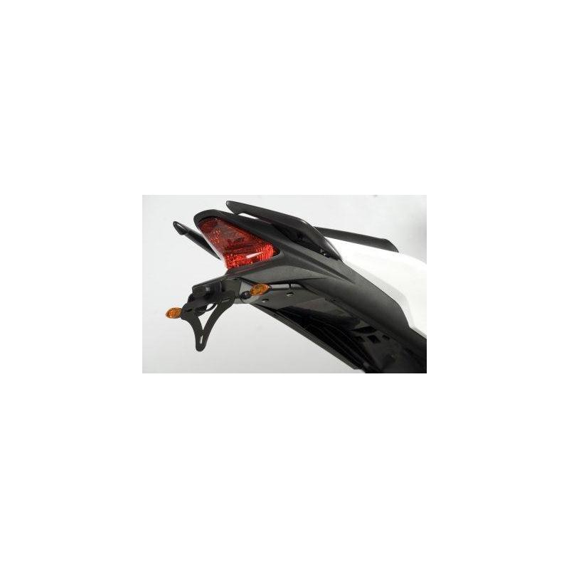 Support de plaque R&G RACING noir Honda CBR125R