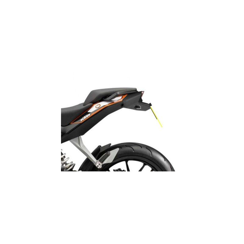 Support de plaque R&G RACING noir KTM Duke 125/200/390