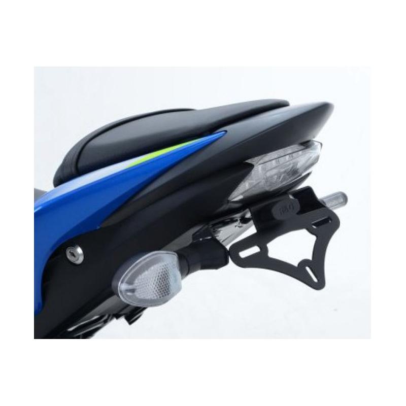 Support de plaque noir R&G RACING Suzuki GSX1000S/A