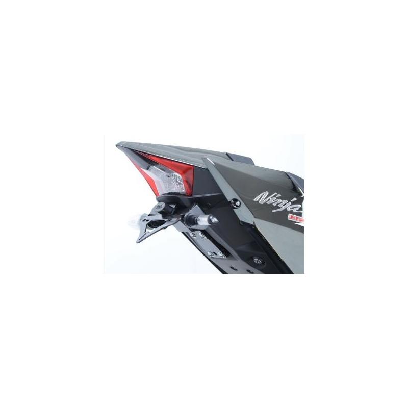 Support de plaque R&G RACING noir Kawasaki H2
