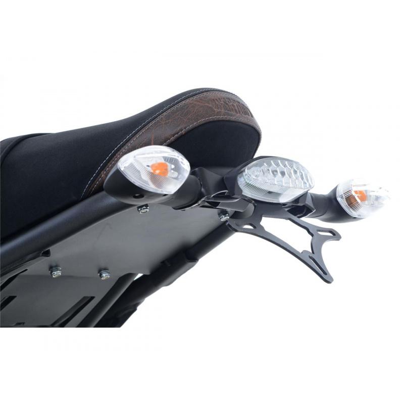 Support de plaque R&G RACING noir Yamaha XSR700