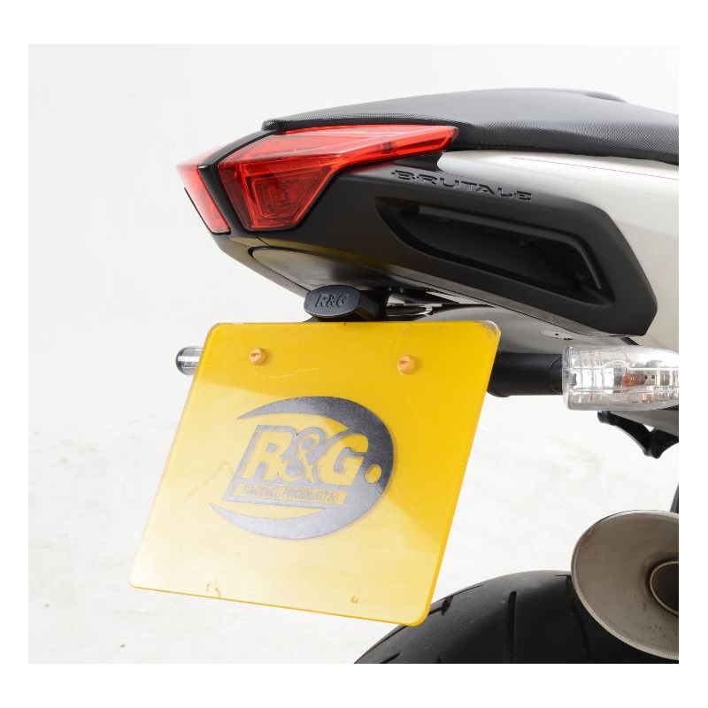 Support de plaque R&G RACING noir MV Agusta Brutale 1090