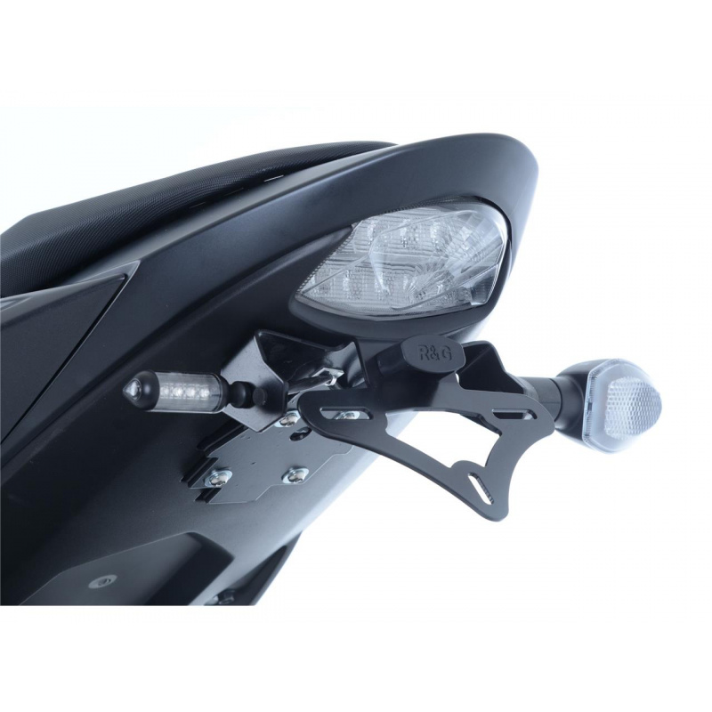 Support de plaque R&G RACING noir Suzuki GSX-S750