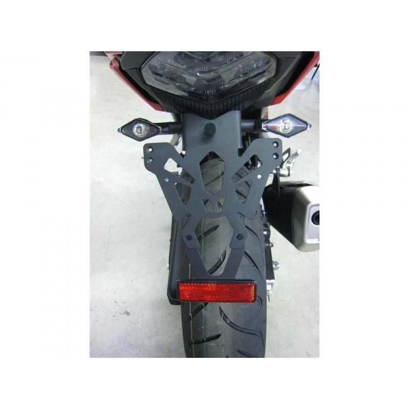 Support de plaque V PARTS noir Honda CB500X