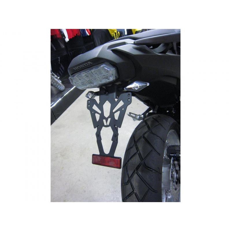 Support de plaque V PARTS noir Honda NC750X