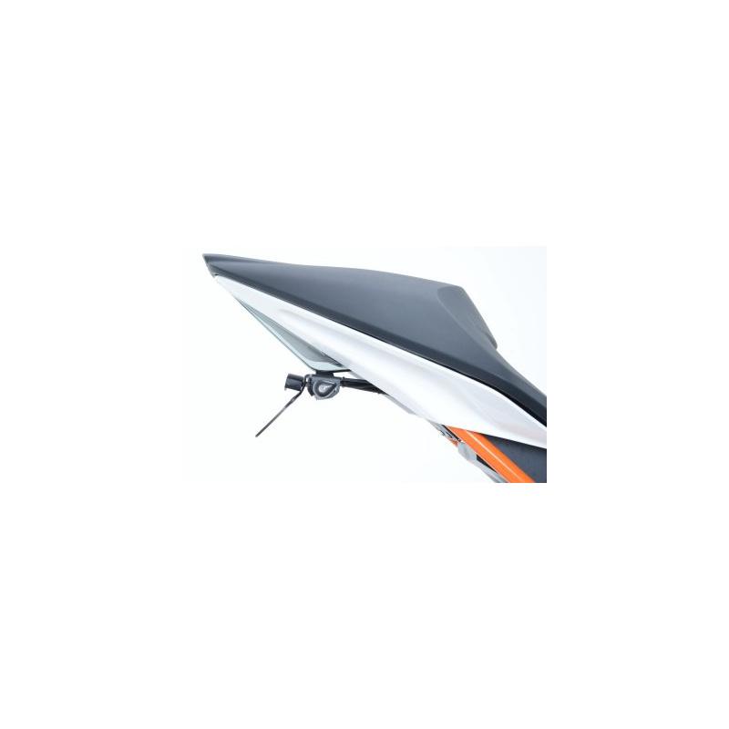 Support de plaque R&G RACING noir KTM