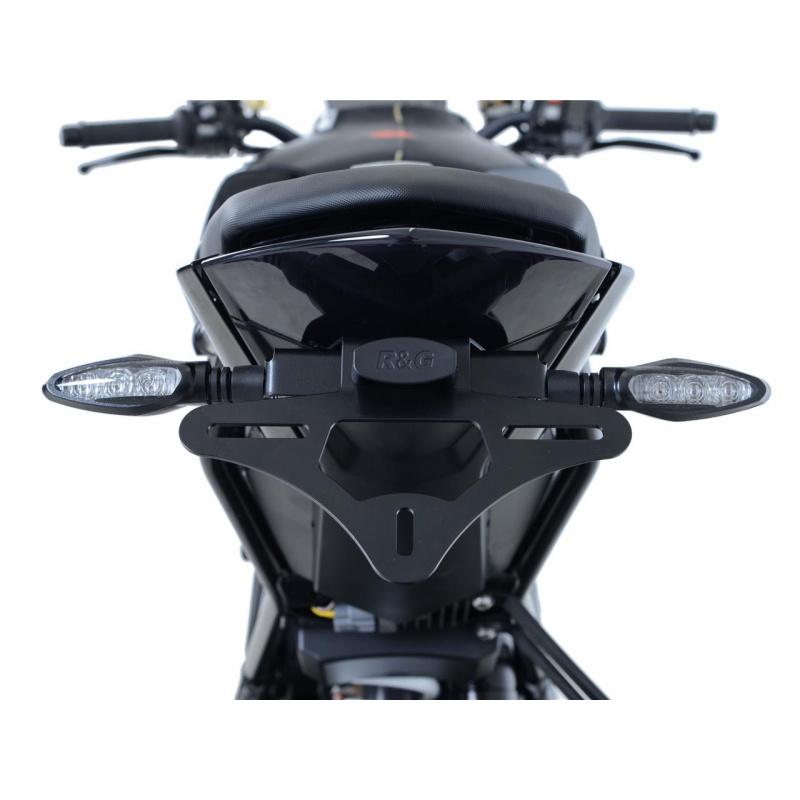 Support de plaque R&G RACING noir KTM 1290 Super Duke R