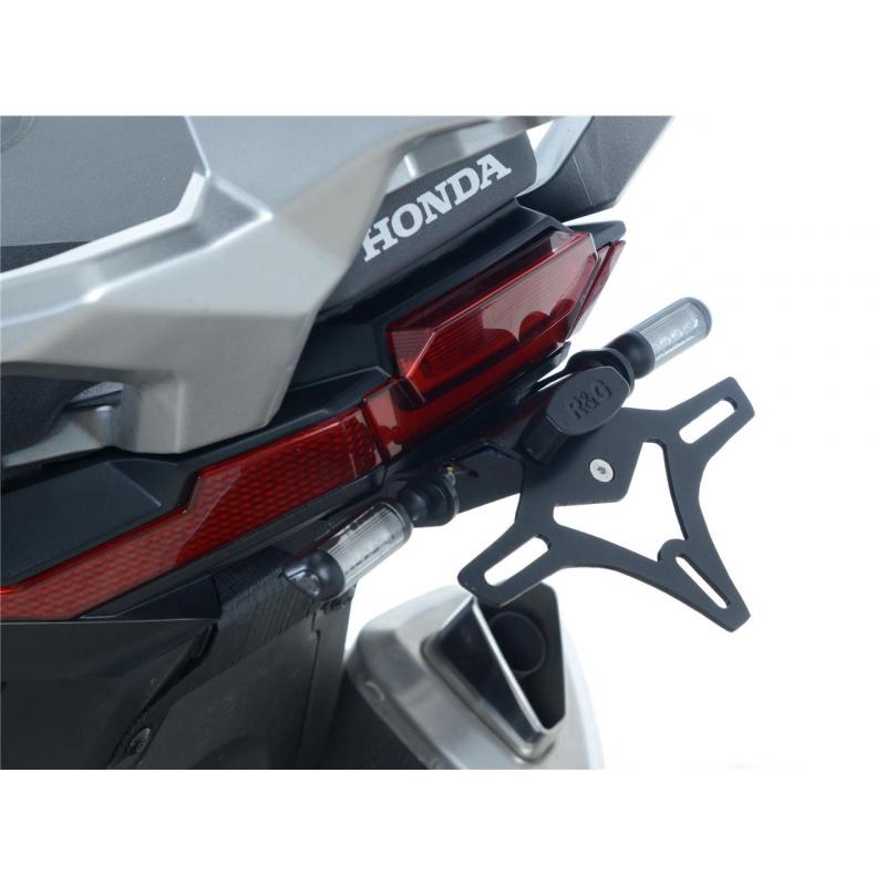 Support de plaque R&G RACING noir Honda X-ADV