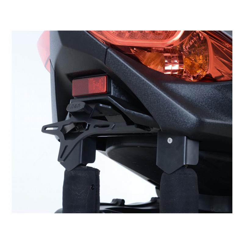 Support de plaque R&G RACING noir Yamaha X-Max 300