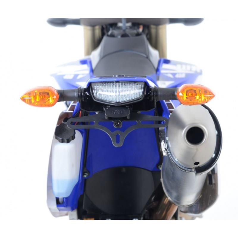 Support de plaque R&G RACING noir Yamaha WR450F