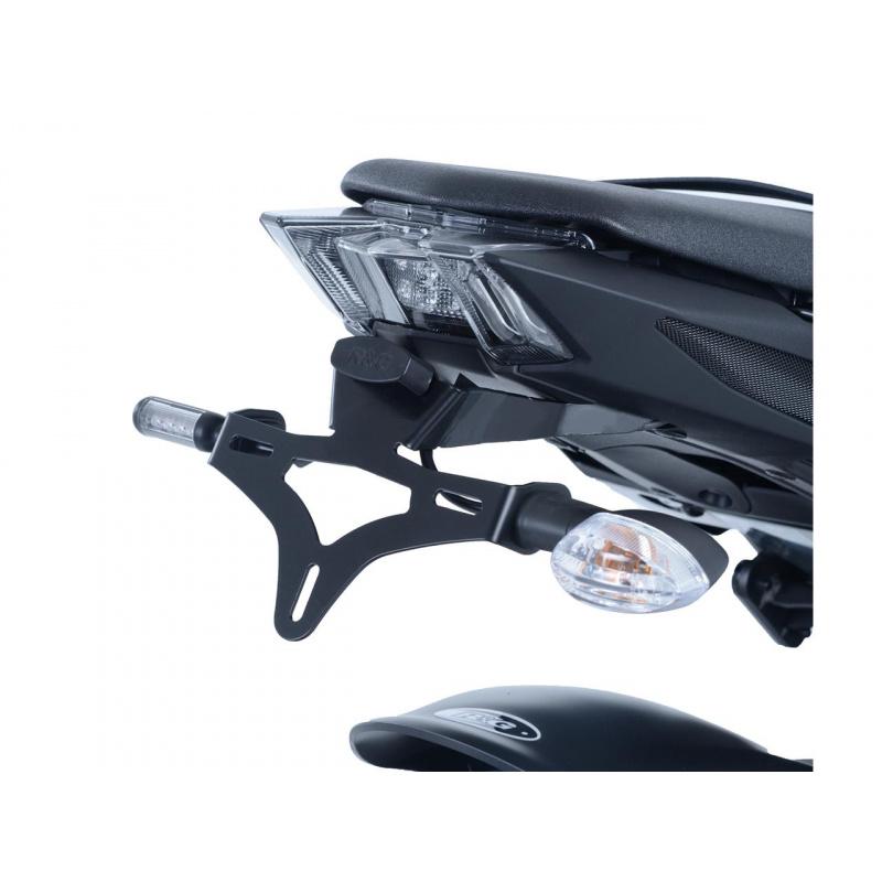 Support de plaque R&G RACING noir Yamaha MT-09