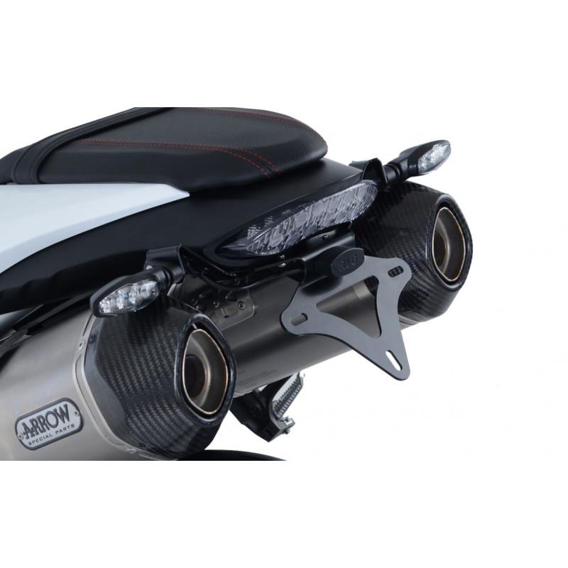 Support de plaque R&G RACING noir Triumph Speed Triple
