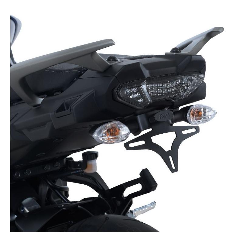 Support de plaque R&G RACING noir Yamaha MT-09 Tracer