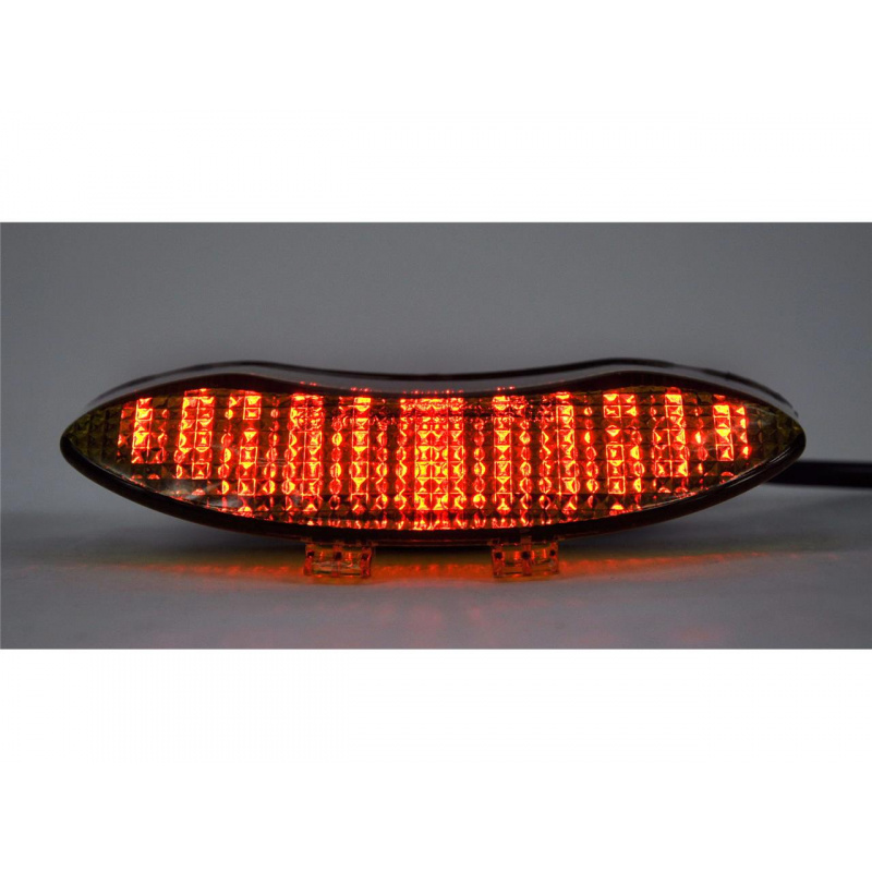 Feu arrière BIHR LED avec clignotants intégrés Triumph DAYTONA 675/STREET TRIPLE 675