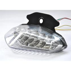 Feu arrière BIHR LED avec clignotants intégrés DUCATI HYPERMOTARD 1100