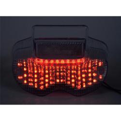 Feu arrière BIHR LED avec clignotants intégrés Suzuki BANDIT 600/1200