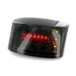 Feu arrière avec clignotants intégrés V PARTS LED fumé MBK/Yamaha