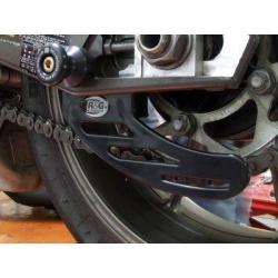 Protège couronne noir (dent de requin) R&G RACING pour BMW S1000RR '10