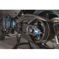 Carter de courroie LIGHTECH carbone mat Yamaha T-Max 530