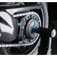 Carter de chaine LIGHTECH carbone brillant Honda Cb1000R