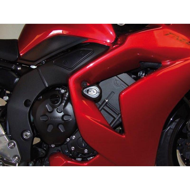 Tampons de protection R&G RACING Aero noir Yamaha FZ1 N/S Fazer