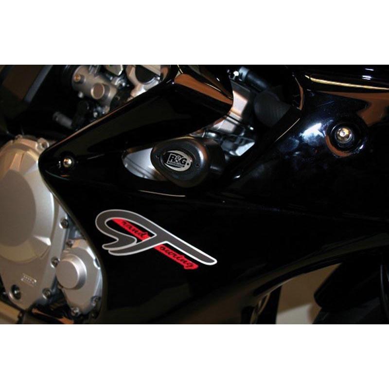 Tampons de protection R&G RACING Aero noir Suzuki GSF1250 Bandit GT
