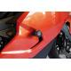 Tampons de protection R&G RACING Aero noir BMW K1300 S