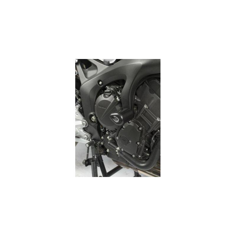 Tampons de protection R&G RACING Aero noir Yamaha FZ6 N/S Fazer