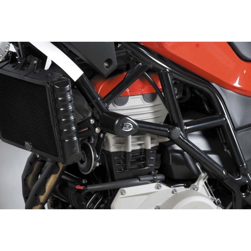 Tampons de protection R&G RACING Aero noir Husqvarna Nuda 900